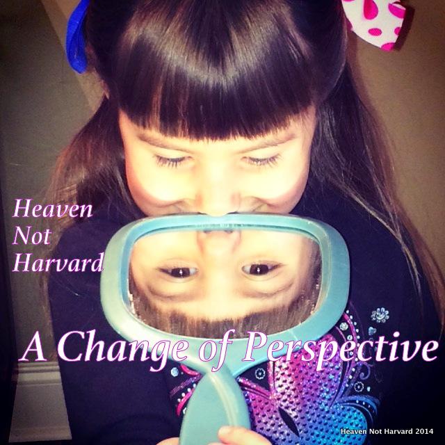 A Change of Perspective Heaven Not Harvard