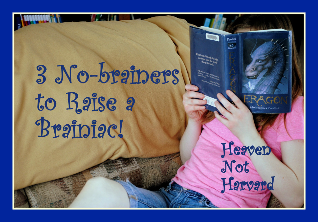 Some parenting is hard. Raising a brainiac doesn't have to be. Heaven Not Harvard shares easy tips to start your child on a path to love learning.