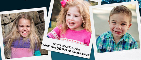 Join us! Take the 50 State Challenge today to end San Filippo and raise awareness for Rare Disease Day!