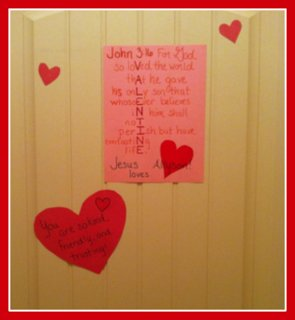 Character hearts for a Valentine's Day tradition that will build self-esteem.