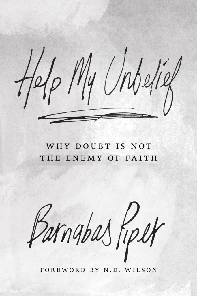 Giveaway!!! Ever felt doubt creep into the corners of your mind? Tried the mental equivalent of plugging your ears? Help My Unbelief can add tools to your faith arsenal.