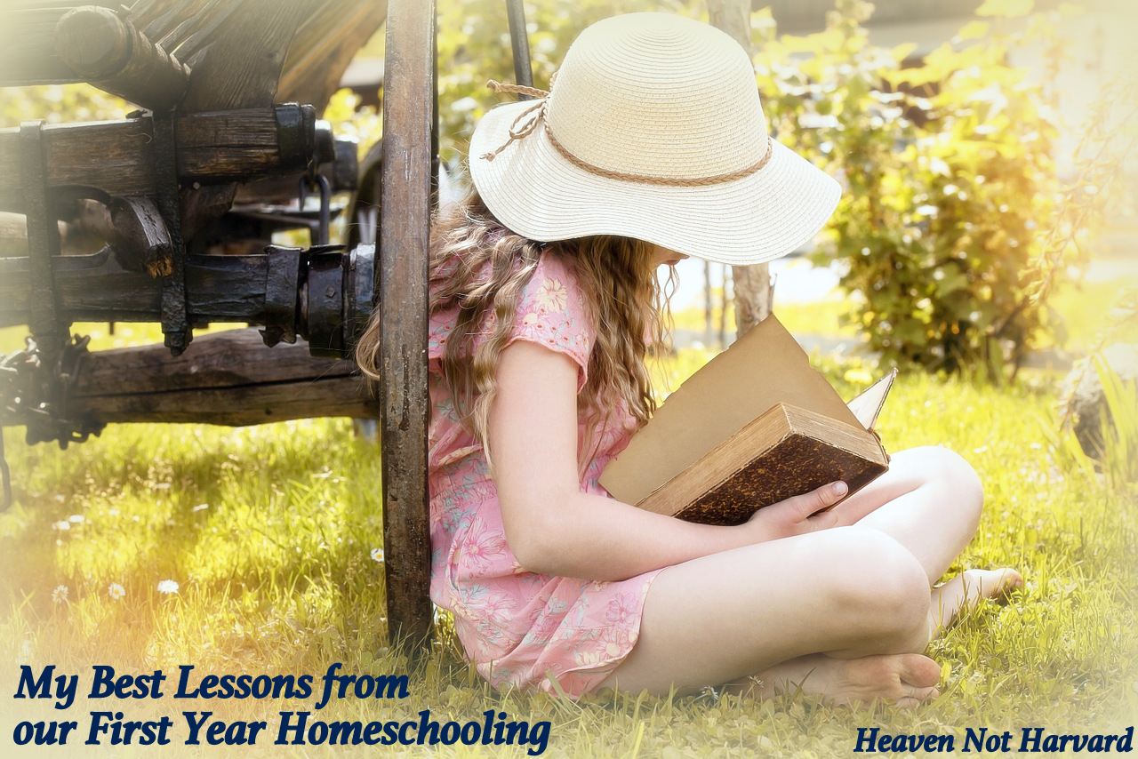 Homeschooling is more than just teaching school at home. Even after 17 years teaching public high school, I had so much to learn this first year of homeschooling.