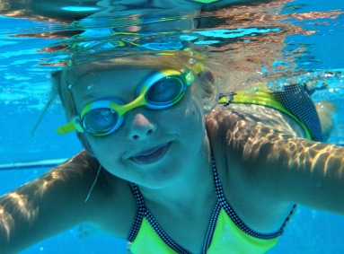 My little Kite Girl - you tossed your floaties, grabbing goggles instead. A letter to my pre-Tween.