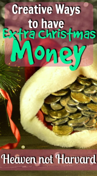 Wouldn't a little extra Christmas money make Christmas a little more magical & a lot less stressful this year? And focus our hearts on Christ in Christmas